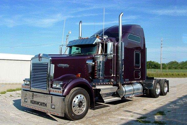 Fábrica de vidros para caminhão