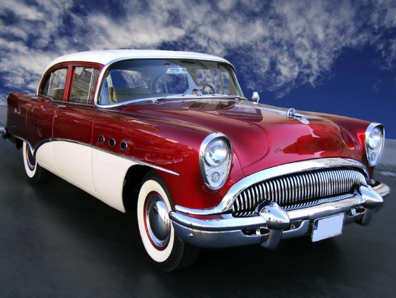 Peças para automóveis antigos